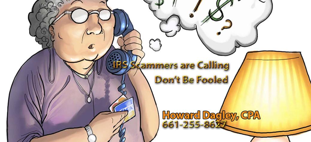 Phone Scam Reminder & Tips – SCV CPA Howard Dagley